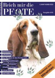 1. Verein für Tierphysiotherapie eV - Reich mir die Pfote