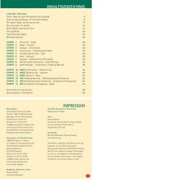 Der ganze Wegverlauf als PDF (Stand 2007) - SeeUndBerge.de