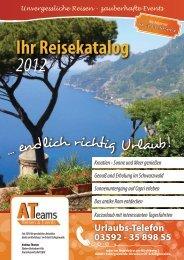 direkten Download des Kataloges - ATeams - Reisen & Events