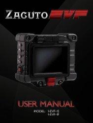 Zacuto EVF Operation Manual - ZTV Broadcast Services Inc.