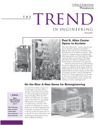 Spring 2004 - College of Engineering - University of Washington
