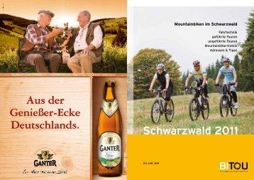 Schwarzwald 2011 - BiTou Bike Touren
