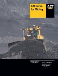 Specalog for CAESultra for Mining, AEHQ5595 - Kelly Tractor