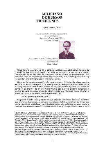 Prof. Danilo Sánchez Lihón