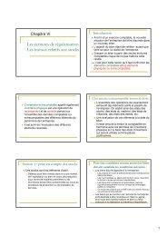 Les écritures de régularisation Les travaux relatifs ... - EveryOneWeb