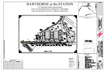 Hawthorne at the Station_TRC submittal set 11 ... - City of Wilmington