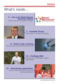 Spring News 2013 - Beating Bowel Cancer - Page 3