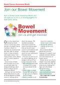 Spring News 2013 - Beating Bowel Cancer - Page 4