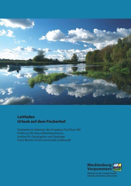 Mecklenburg Vorpommern Leitfaden Urlaub auf dem Fischerhof