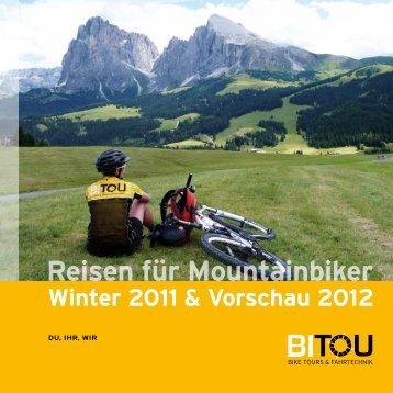 Reisen für Mountainbiker - BiTou Bike Touren