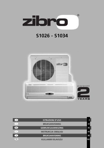S1026 - S1034 - Zibro