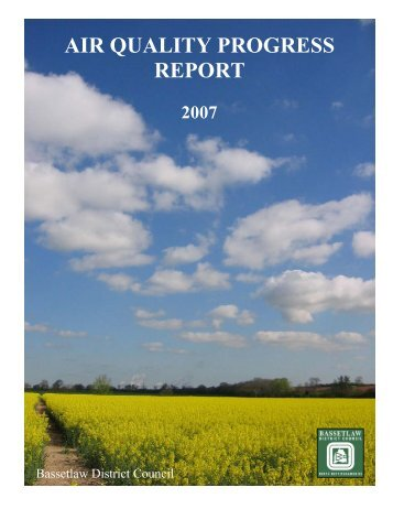 2007 Progress Report - Bassetlaw District Council