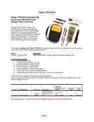 Fluke 179/1AC-II Fluke 179/1AC-II Combo Kit
