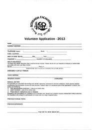 Bethsaida dig application form - Mission Travel