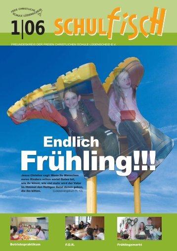 Lampenfieber - Freie Christliche Schule Lüdenscheid