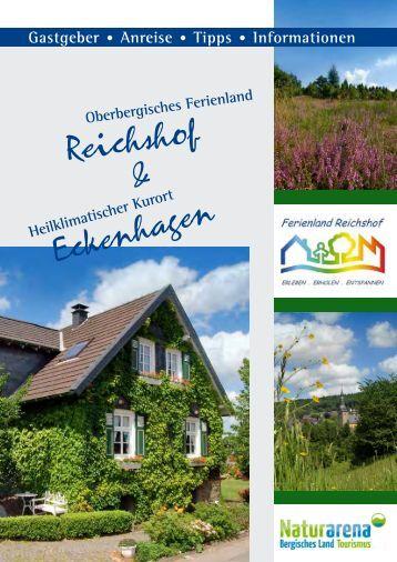 Gastgeber • Anreise • Tipps • Informationen - Gemeinde Reichshof