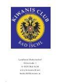 ZT Architekt Dipl.Ing. (FH) Walter Plieseis - Kiwanis Club zu Bad Ischl - Seite 6
