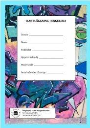 kartläggning i engelska - Umeå universitet
