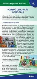 Vízmérő-leolVasás, számlázás - Dunántúli Regionális Vízmű Zrt.