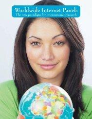 Worldwide Internet Panels - Decision Analyst, Inc.