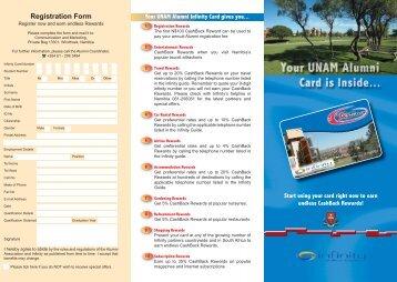 Infinity ALUMNI Brochure-3.indd - University of Namibia