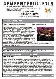 Bulletin 9 Junie 2013.cdr - Moederkerk