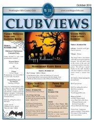 Happy Halloween! - Worthington Hills Country Club