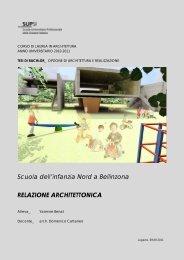 Relazione Tecnica_Nuova scuola dell'infanzia a ... - Archilovers