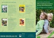 Offener Kindergarten konkret in seiner weiterentwicklung