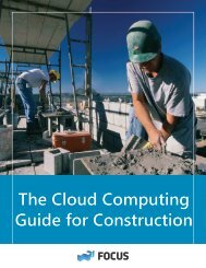 The Cloud Computing Guide for Construction - Net