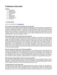 Praktische informatie - Lapland