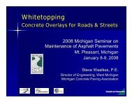 Whitetopping Presentation