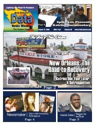 New Orleans: The Road to Recovery