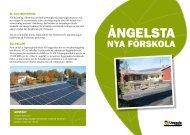 Folder om Ångelsta förskola - Uppsala kommun
