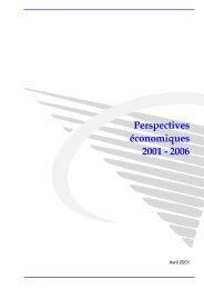 Publication (fr) - Bureau fédéral du Plan