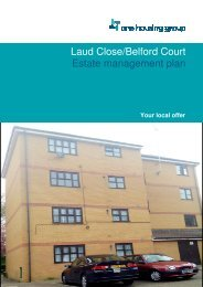 Laud Close and Belford Court - One Housing Group