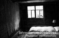 Jahresbericht 2010/2011 (1.8MB) - Schweizer Heimatschutz