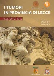 I tumori in Provincia di Lecce - Associazione Italiana Registri Tumori