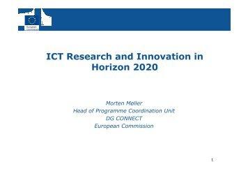 ICT in Horizon 2020 - Seventh EU Framework Programme Ireland