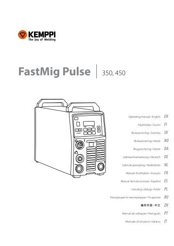 FastMig Pulse 350, 450 - Rapid Welding and Industrial Supplies Ltd