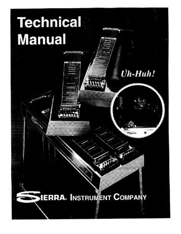 Sierra Technical Manual • Page 3 - Carter Steel Guitars