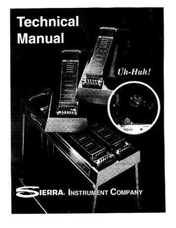 Sierra Technical Manual • Page 3 - Carter Steel Guitars