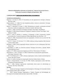Referências Bibliográficas - Concurso Anterior - Conselho Federal ...