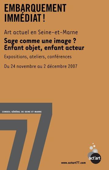 EmbarquementImmediat.pdf - Connaissance de l'Art Contemporain
