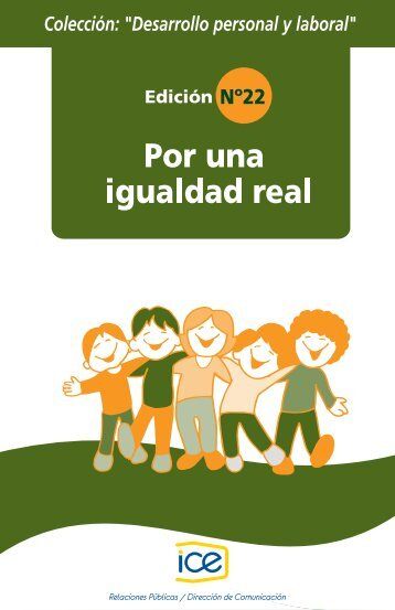 22. Por una igualdad real - Grupo ICE