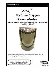 XPO Portable Oxygen Concentrator - Invacare