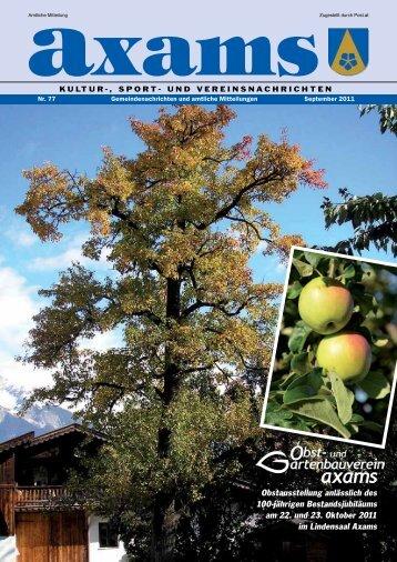 (3,80 MB) - .PDF - Gemeinde Axams - Land Tirol