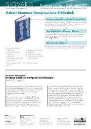 Compression Bulletin 07 - 09/04 - Sigvaris