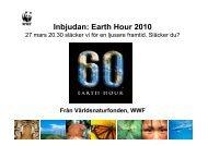 Earth Hour 2010 - Världsnaturfonden WWF