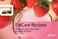 EleCare® Recipes - Abbott Nutrition